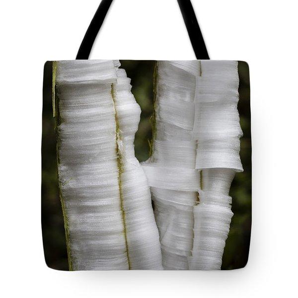 Frostweed Ice Curls Tote Bag
