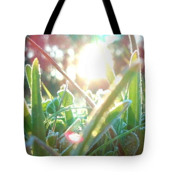 Frosty Flare Tote Bag