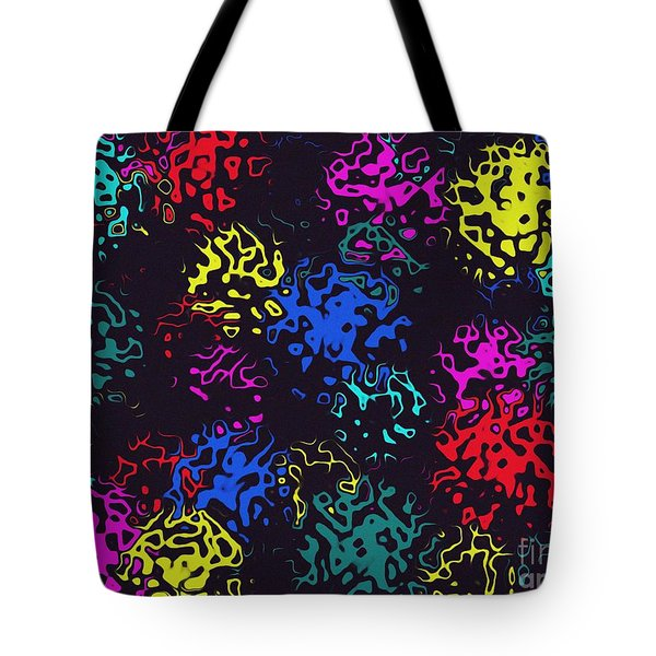Frosty Marbles Tote Bag by Mark Blauhoefer
