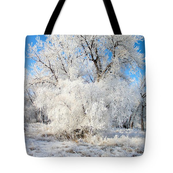 Frosty Morning Tote Bag