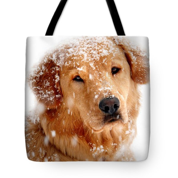 Frosty Mug Tote Bag by Christina Rollo