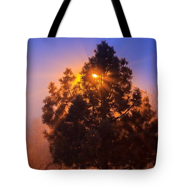 Frosty Sunrise 2 Tote Bag