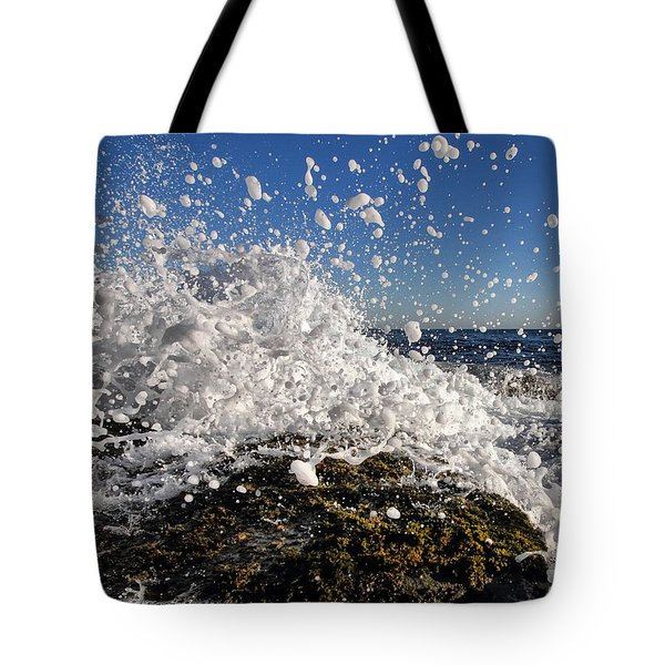 Froth And Bubble Tote Bag