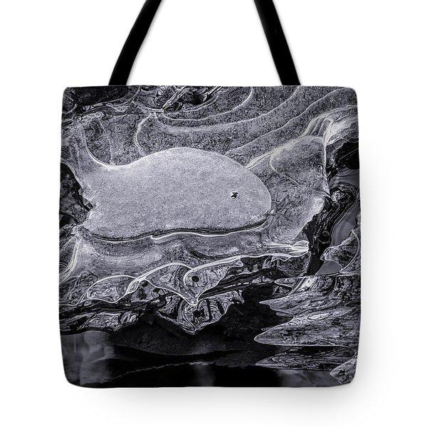 Frozen Beached Whale Tote Bag by LeeAnn McLaneGoetz McLaneGoetzStudioLLCcom