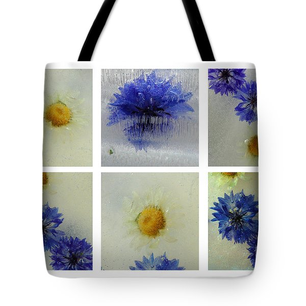 Frozen Blue Tote Bag