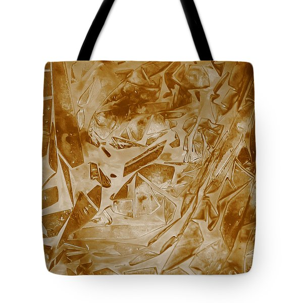 Frozen Glow Tote Bag by Heather  Hiland