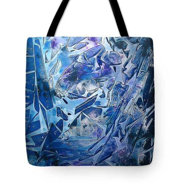 Frozen Tote Bag by Heather  Hiland