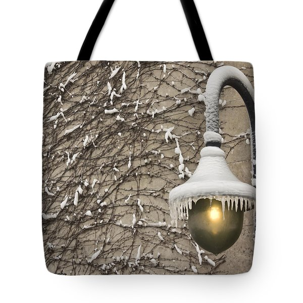 Frozen Illumination Tote Bag
