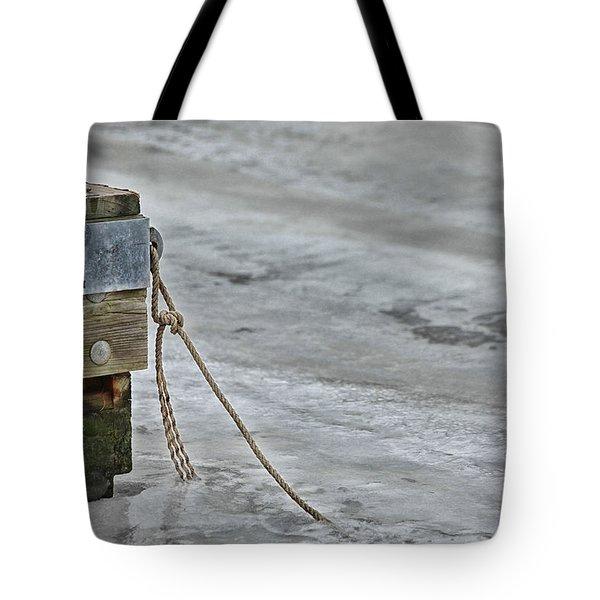 Frozen Tote Bag by Karol Livote