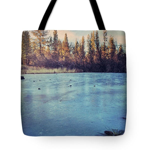 Frozen Tote Bag by Laurie Search