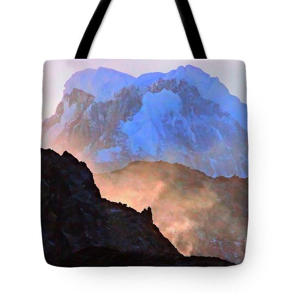 Frozen - Torres Del Paine National Park Tote Bag