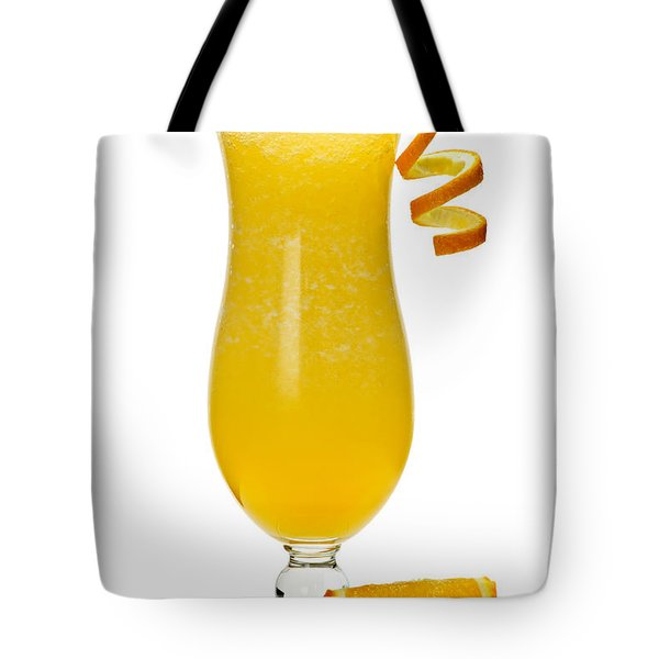 Frozen Orange Drink Tote Bag