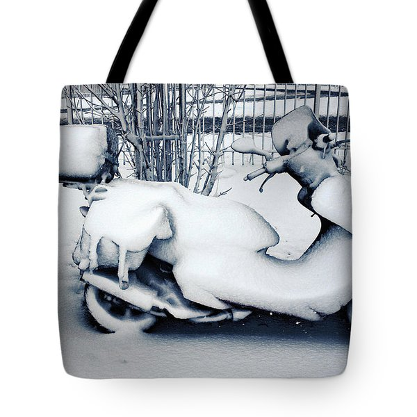 Frozen Ride Tote Bag