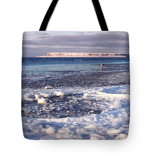 Frozen Shore Tote Bag