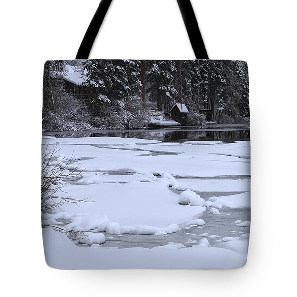 Frozen Silence  Tote Bag by Duncan Selby
