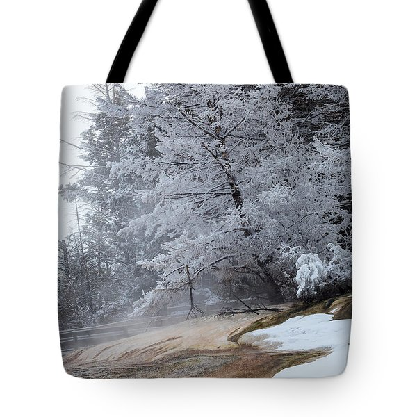 Frozen Tree Tote Bag