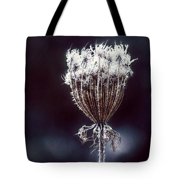 Tote Bag featuring the photograph Frozen Wisps by Melanie Lankford Photography