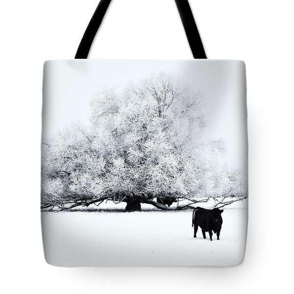 Frozen World Tote Bag by Mike  Dawson