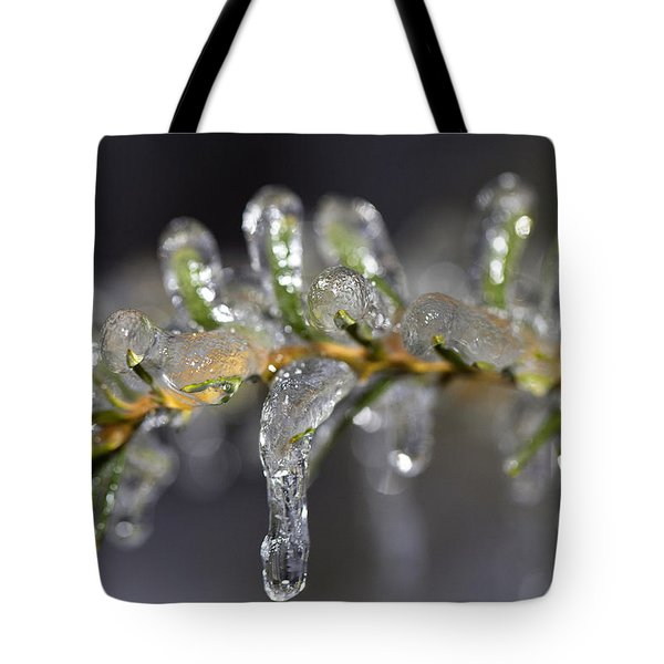 Frozen Yew Tote Bag