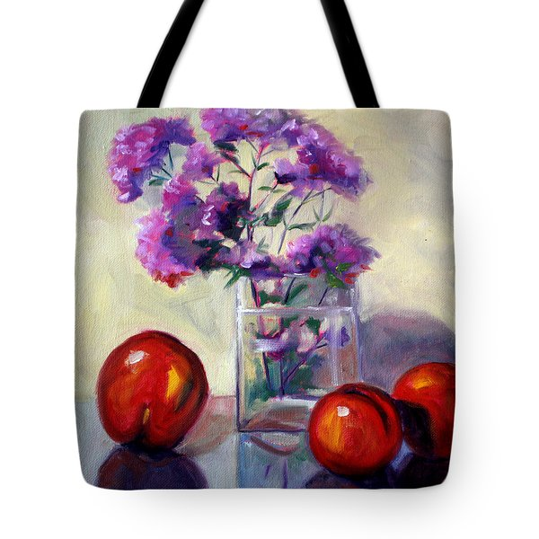 Fruit And Mint Tote Bag