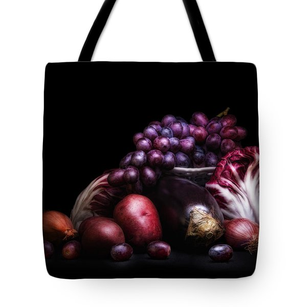 Fruit And Vegetables Still Life Tote Bag by Tom Mc Nemar