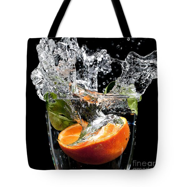 Fruit Drop With Big Splash Tote Bag