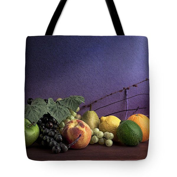 Fruit In Still Life Tote Bag
