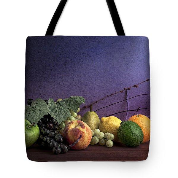 Fruit In Still Life Tote Bag by Tom Mc Nemar