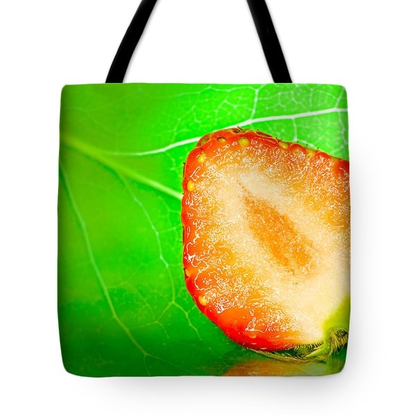 Fruit Of Rainy Summer Tote Bag by Janne Mankinen