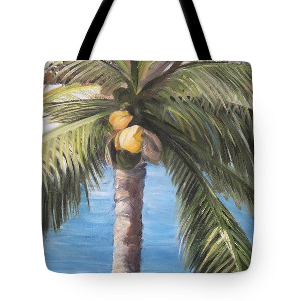 Fruit Of The Palm Tote Bag