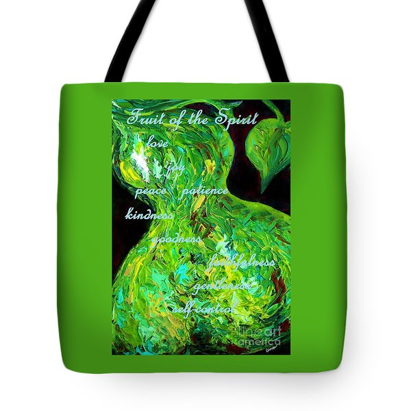 Fruit Of The Spirit Tote Bag by Eloise Schneider