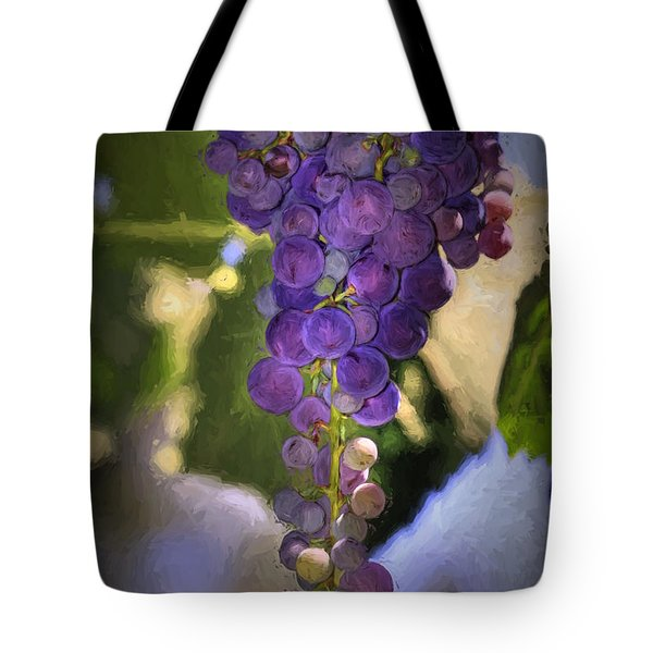 Fruit Of The Vine Tote Bag by Donna Kennedy