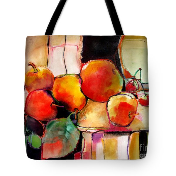 Fruit On A Dish Tote Bag