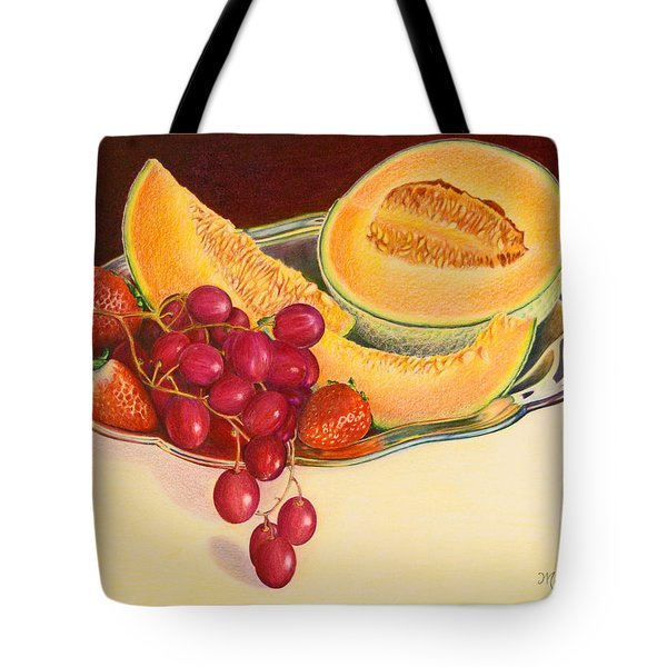 Fruit Platter Tote Bag