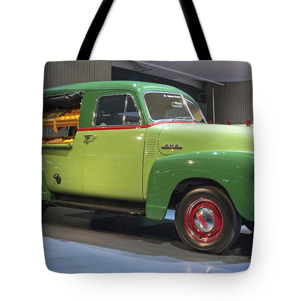 Fruit Wagon Tote Bag