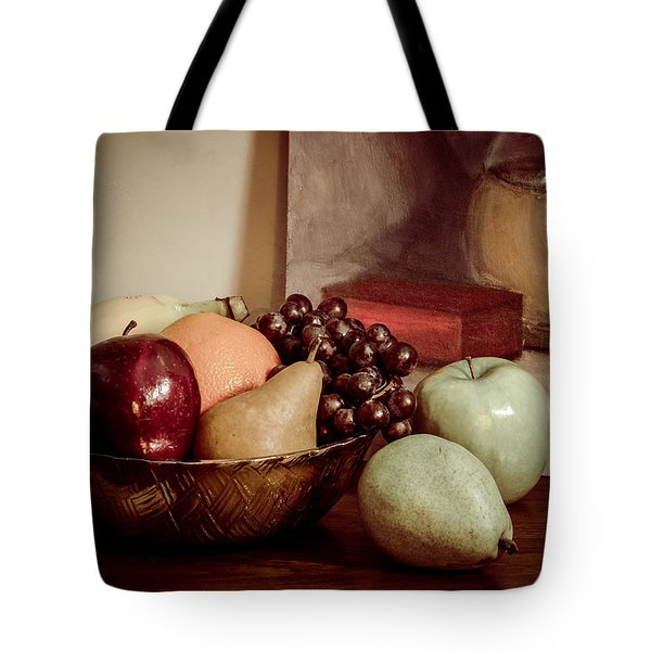 Fruit With Painting Tote Bag