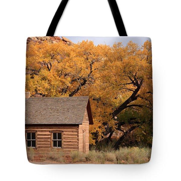 Fruita Schoolhouse, Capital Reef, Utah Tote Bag