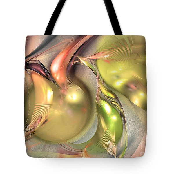Fruitful - Abstract Art Tote Bag