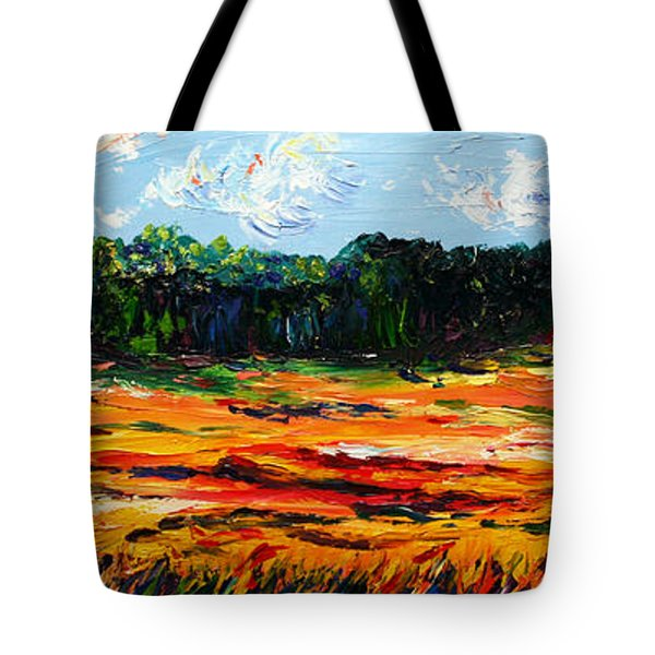 Tote Bag featuring the painting Fruition by Meaghan Troup