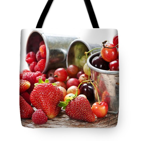 Fruits And Berries Tote Bag by Elena Elisseeva