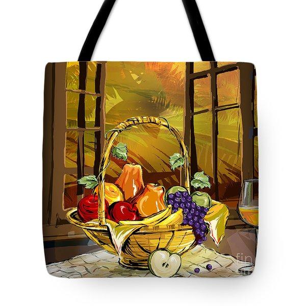 Fruits Basket Tote Bag