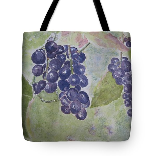Fruits Of The Wine Tote Bag