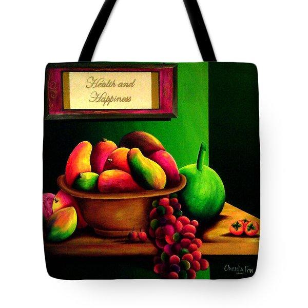 Fruits Still Life Tote Bag