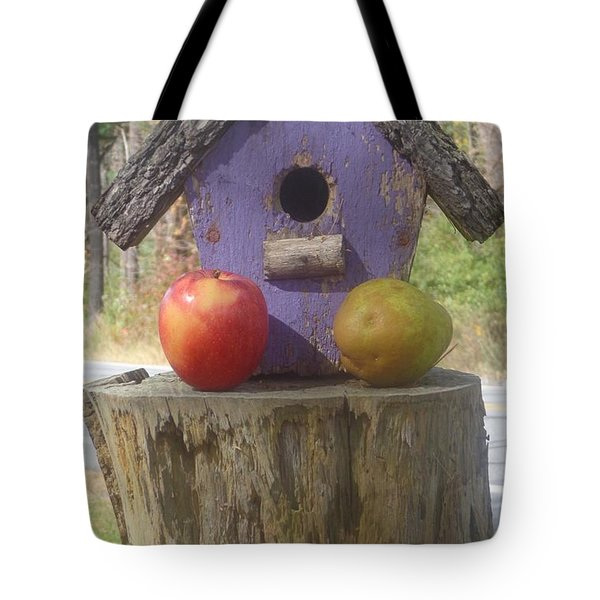 Fruity Home? Tote Bag