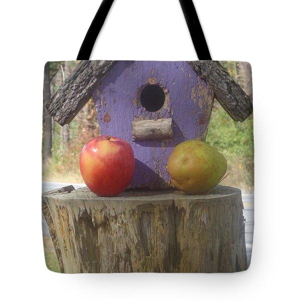Fruity Home? Tote Bag
