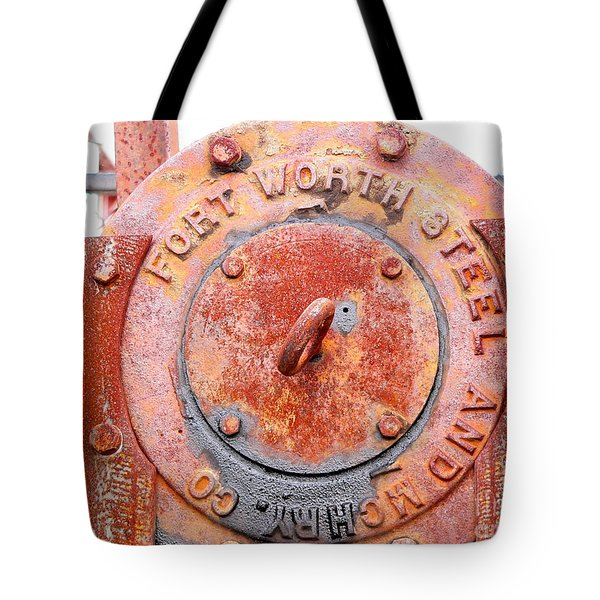 Ft Worth Steel Tote Bag by Angela Wright