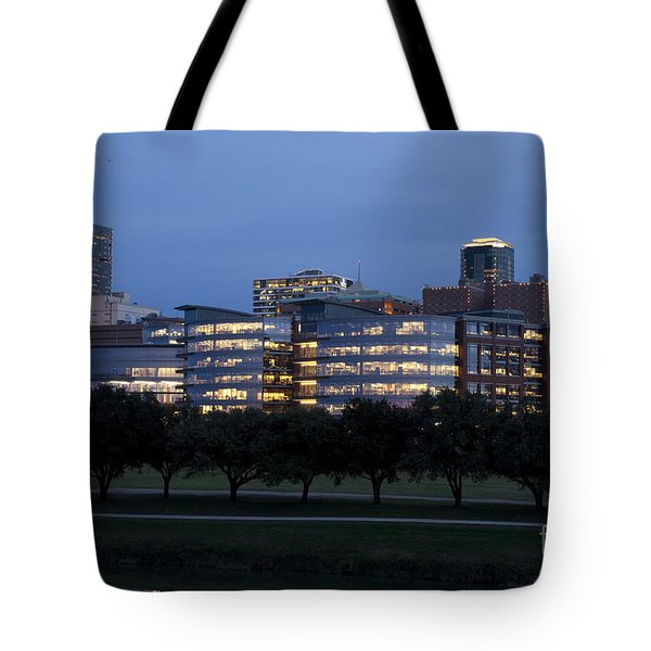 Ft. Worth Texas Skyline Tote Bag