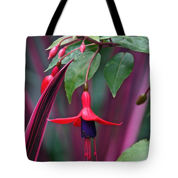Fuchsia Delight Tote Bag
