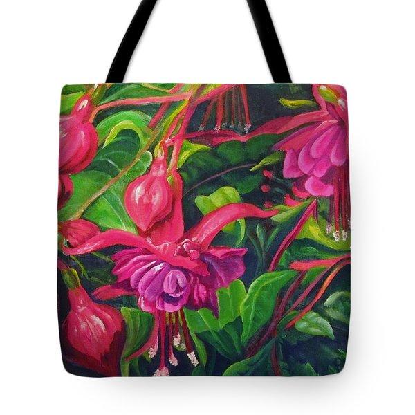 Fuchsia Fantastic Tote Bag