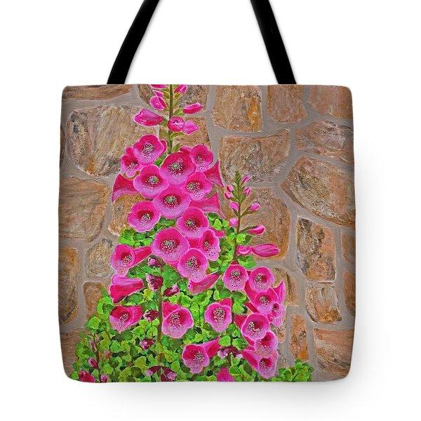 Fuchsia Profusion Tote Bag by Donna  Manaraze